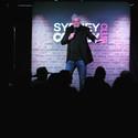 Darren Sanders Live on Stage at Sydney Comedy Club Luna Park