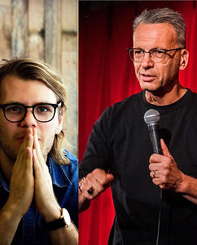 Tom Witcombe and David Smiedt Sydney Comedy Club at The Lake House