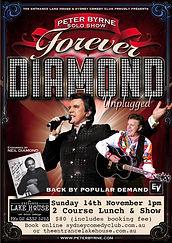 Peter Byrne Forever Neil Diamond Sydney Comedy Club