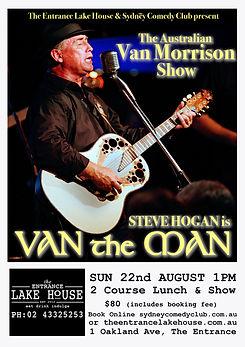 Van the Man Australian Van Morrison Show