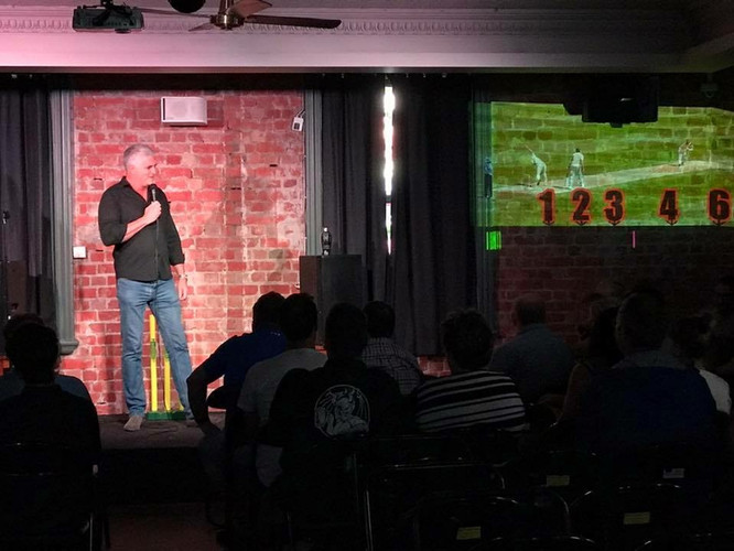 Darren Sanders Comedy Ashes