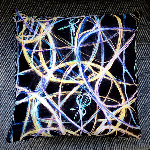 "Pillow Art Accents . ""Other Lives"""
