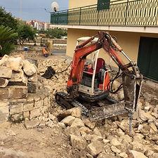 Sergi Scavi - Operazioni di scavo