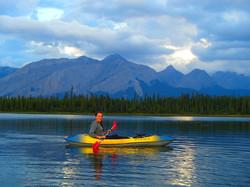 Kayaking in the Rockies