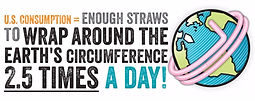 Refuse straws