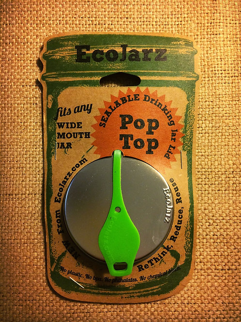 PopTop sealable jar lid - WIDE mouth