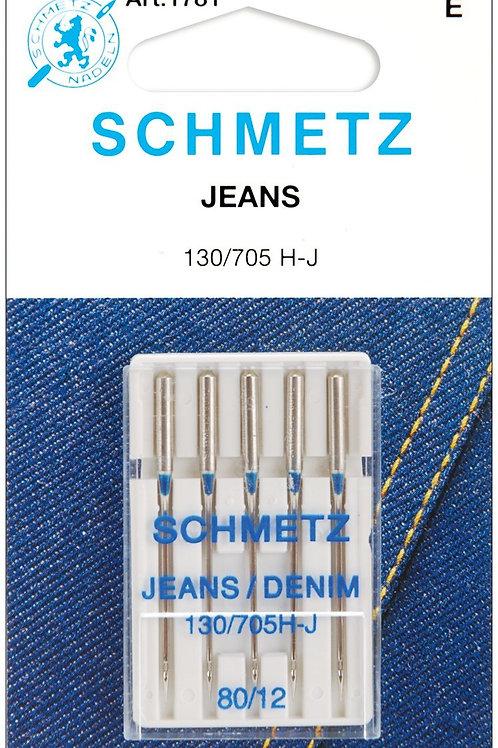 Schmetz Jean & Denim Machine Needles 12/80