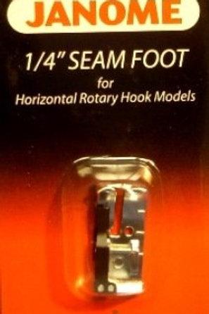 "Janome 1/4"" Seam Foot"
