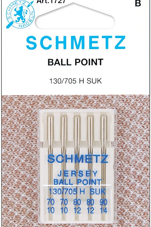 Schmetz Ball Point Jersey Machine Needles multipac