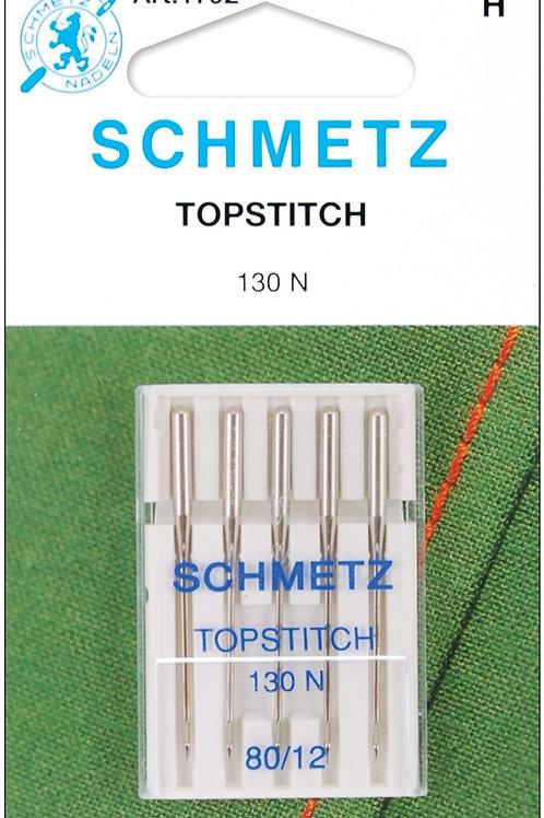 Schmetz Topstitch Machine Needles 12/80