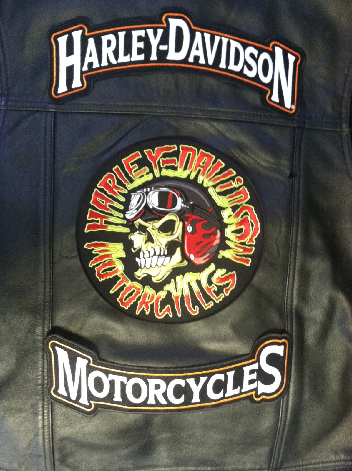 Harley Davidson Vest with Patch