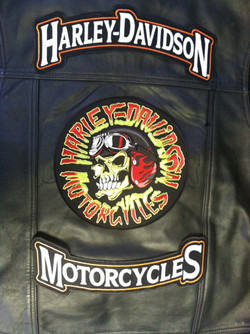 Harley Davidson Vest with Patch