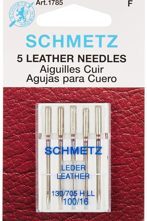 Schmetz Leather Machine Needles Size 16/100
