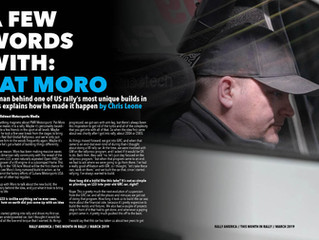 """Pat Moro Featured in """"This Month in Rally"""""""
