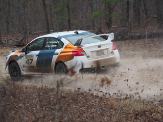 Tim Rooney Grabs Super Production Win and Second Overall at Rally in the 100 Acre Wood