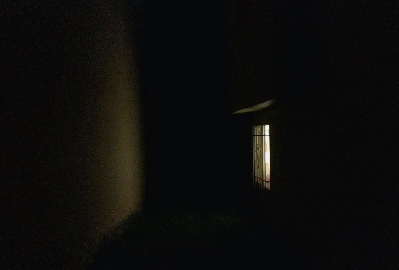 like a shadow