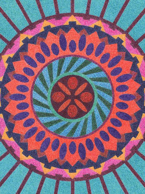 Mandala Two - 8x10