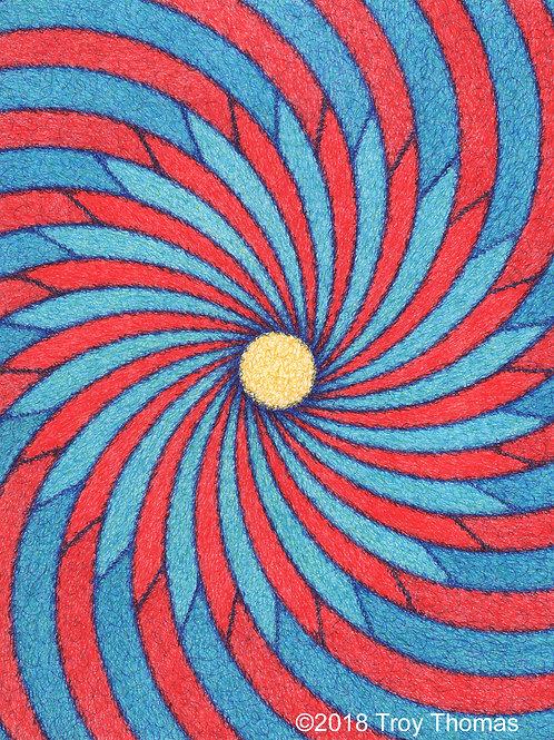 Pinwheel 180312 - 16x20