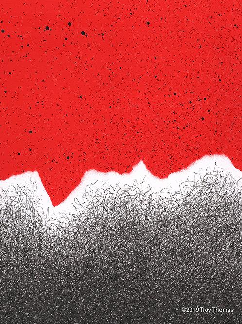 Red Sky 190126 - Original