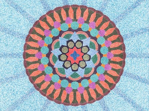 Mandala One - 16x20