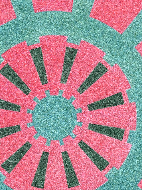 Watermelon Sprocket - 11x14