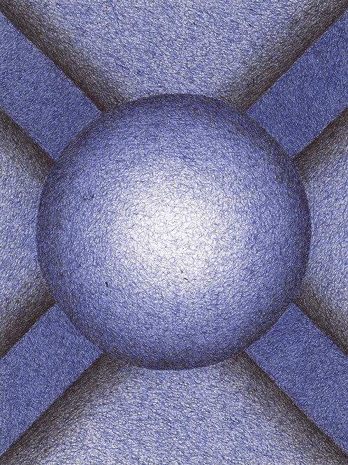 Sconce:Blue - 16x20