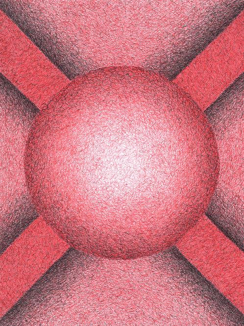 Sconce:Red - Original