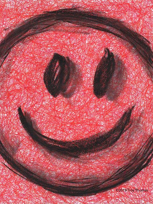 Smiley Face 190313 - Original