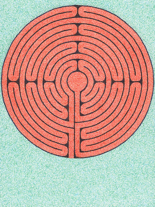 Floating Labyrinth - 5x7