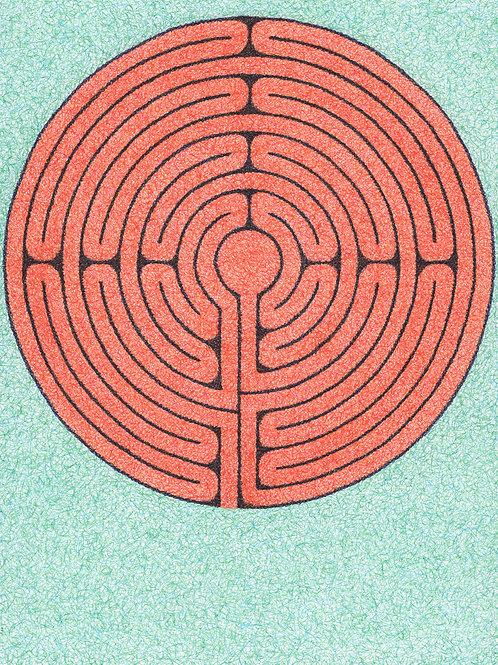 Floating Labyrinth - 8x10