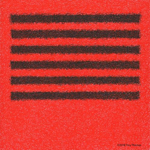 Square Abstract 181206 - Original