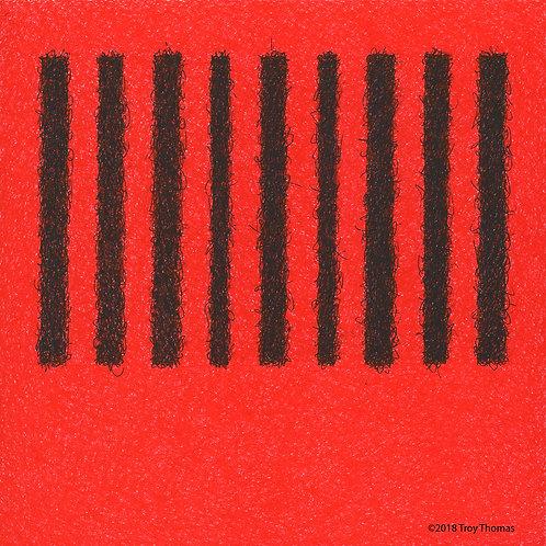 Square Abstract 181228 - Original