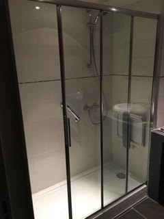 Installation douche Terminée