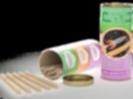 Упаковка гмстиков с ароматом земляники