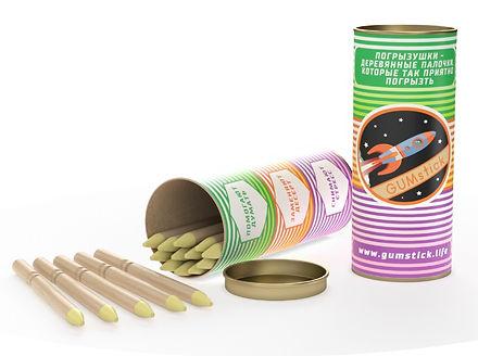 Упаковка гамстиков с ароматом ванили