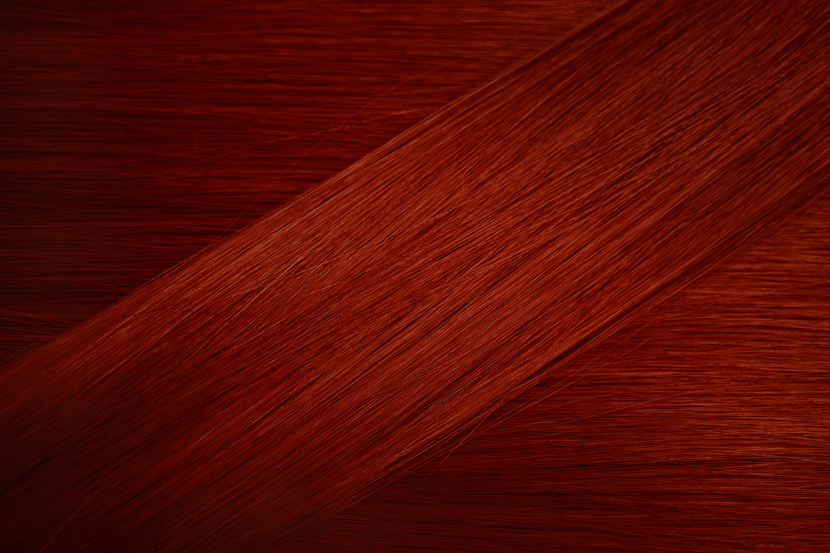 Dark Copper Hair Sample