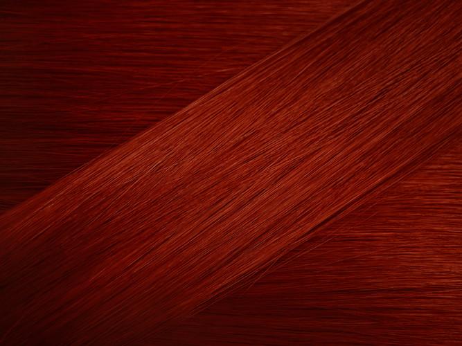 Dark Copper Hair Sample