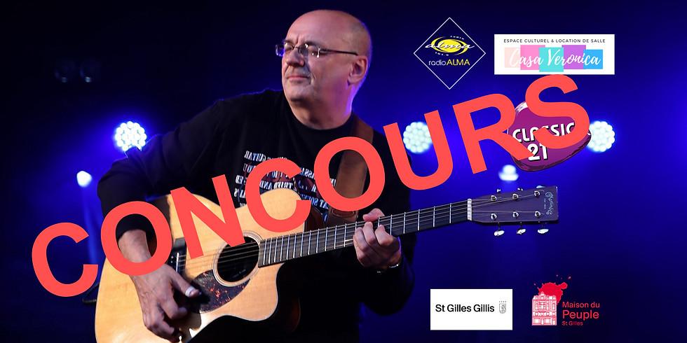 Concours Dans les cordes 101.9 FM Jacques Stotzem