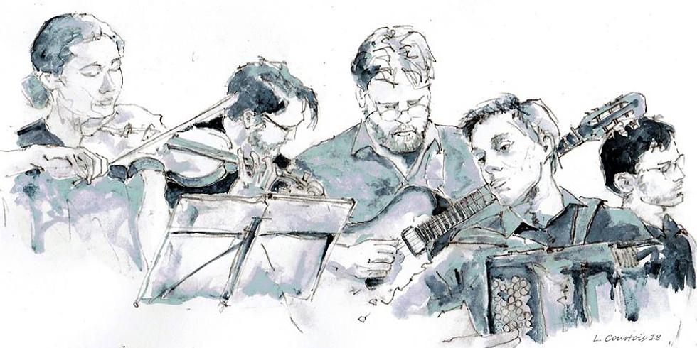 Dans les cordes /Iguazù Quintet