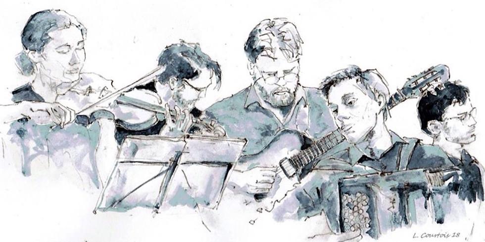 Gift card concert Iguazù Quintet