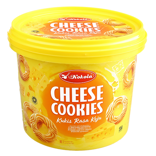 Delicious Cookies Bucket Cheese 400g