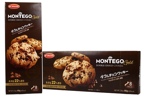 Montego Gold Double Chocochips 80g