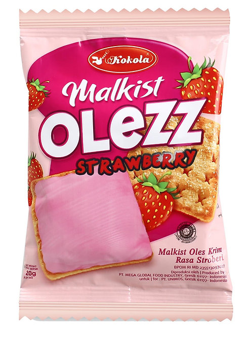 Olezz Crackers Strawberry 20g