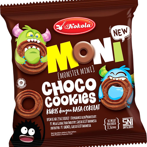 Moni Choco Cookies 11.5g