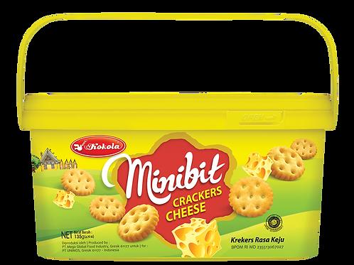 Minibit Crackers Cheese 135g
