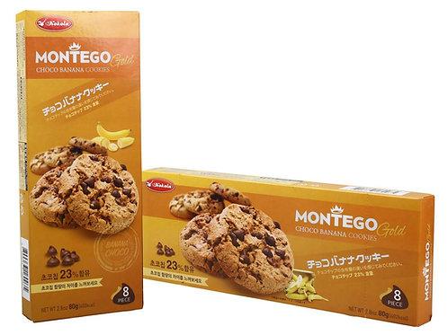 Montego Gold Choco Banana 80g
