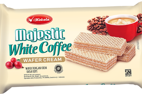 Majestic Wafer White Coffee 80g