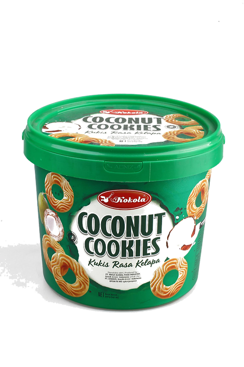 Delicious Cookies Bucket Coconut 400g