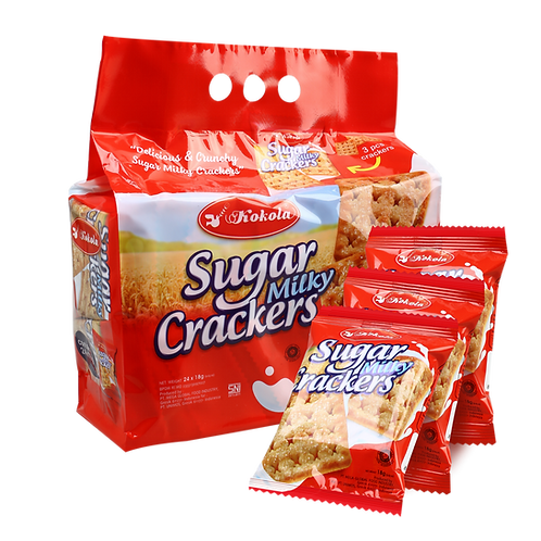 Sugar Milky Crackers 18g