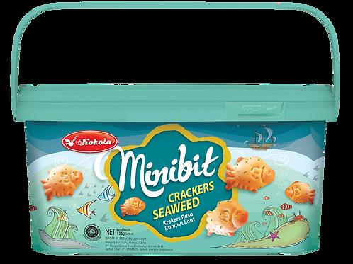 Minibit Crackers Seaweed 135g